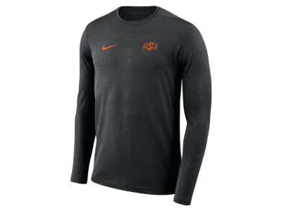 Oklahoma State Cowboys Nike NCAA Men's Long Sleeve Dri-Fit Coaches T-shirt
