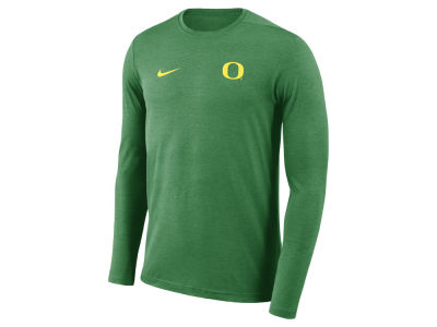Oregon Ducks Nike NCAA Men's Long Sleeve Dri-Fit Coaches T-shirt