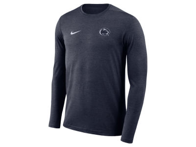 Penn State Nittany Lions Nike NCAA Men's Long Sleeve Dri-Fit Coaches T-shirt