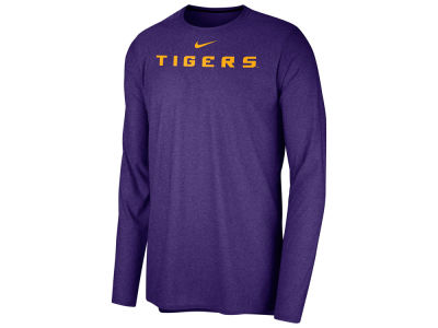 LSU Tigers Nike NCAA Men's Long Sleeve Player T-shirt