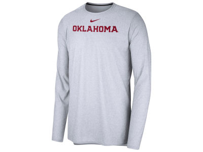 Oklahoma Sooners Nike NCAA Men's Long Sleeve Player T-shirt