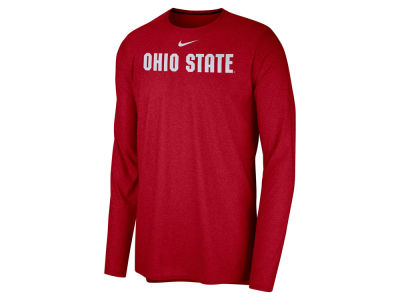 Ohio State Buckeyes Nike NCAA Men's Long Sleeve Player T-shirt