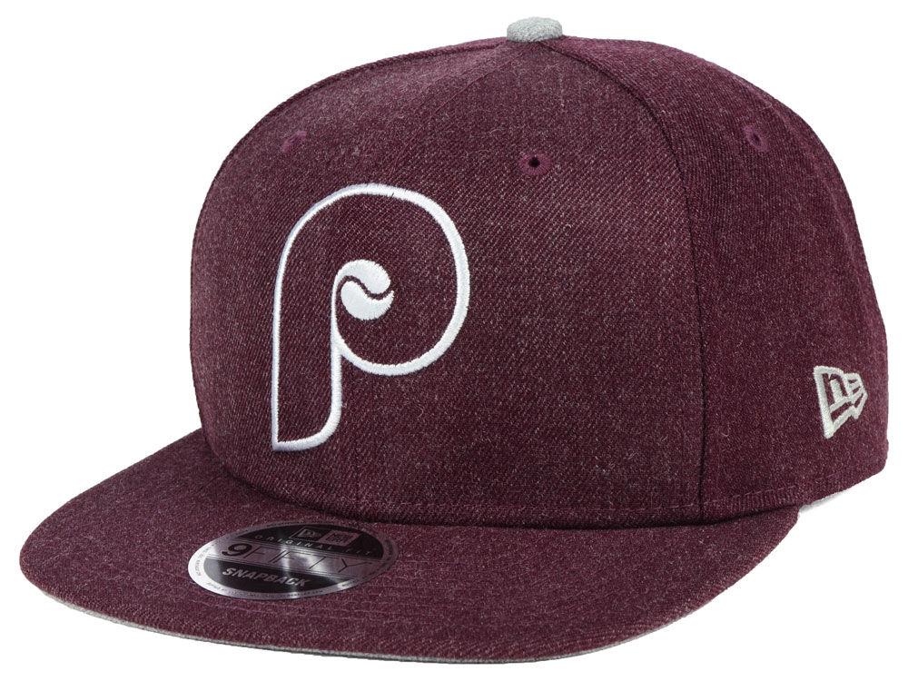 cf9fa6cd9c4 Philadelphia Phillies New Era MLB Heather Hype 9FIFTY Snapback Cap ...