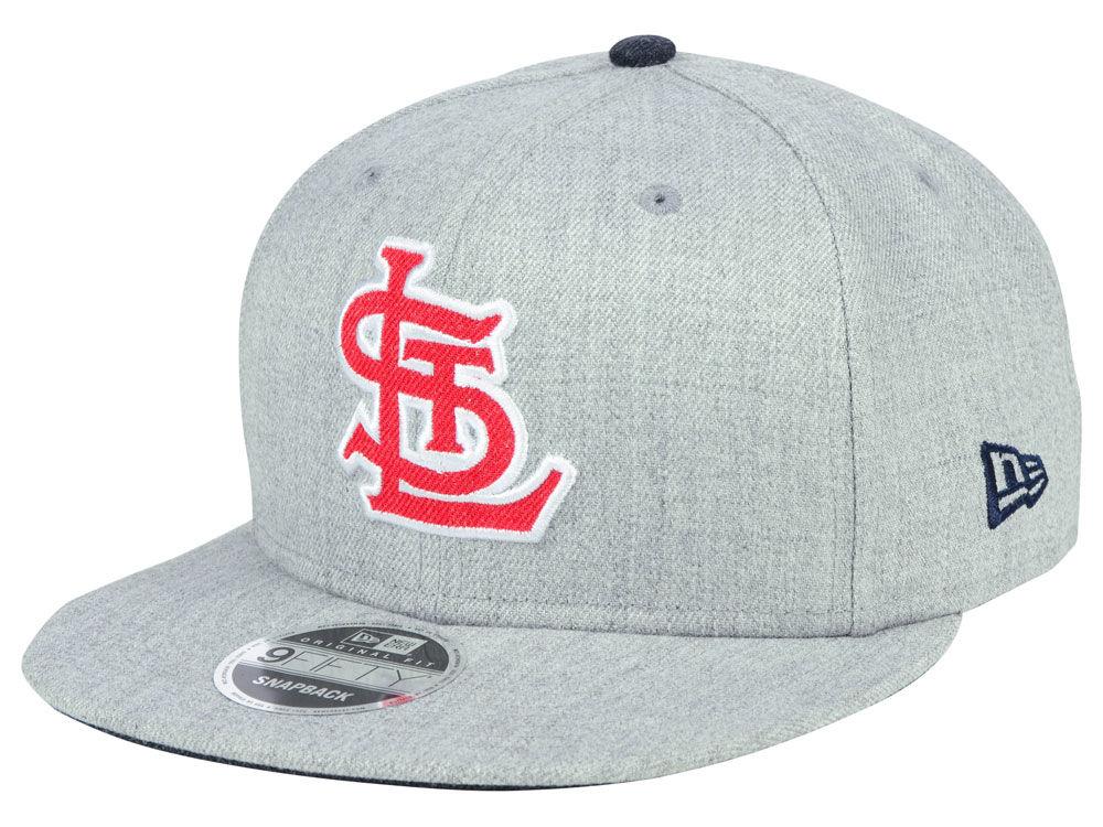 fa10465e174 St. Louis Cardinals New Era MLB Heather Hype 9FIFTY Snapback Cap ...
