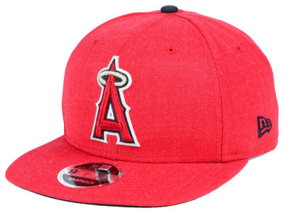 Los Angeles Angels New Era MLB Heather Hype 9FIFTY Snapback Cap