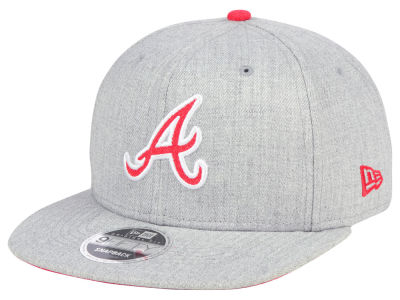 Atlanta Braves New Era MLB Heather Hype 9FIFTY Snapback Cap