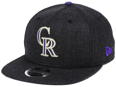Colorado Rockies New Era MLB Heather Hype 9FIFTY Snapback Cap