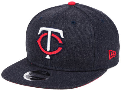 Minnesota Twins New Era MLB Heather Hype 9FIFTY Snapback Cap