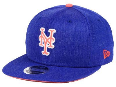 New York Mets New Era MLB Heather Hype 9FIFTY Snapback Cap