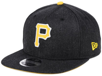 Pittsburgh Pirates New Era MLB Heather Hype 9FIFTY Snapback Cap