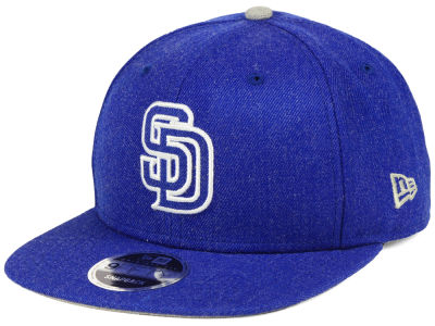 San Diego Padres New Era MLB Heather Hype 9FIFTY Snapback Cap