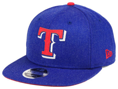 Texas Rangers New Era MLB Heather Hype 9FIFTY Snapback Cap