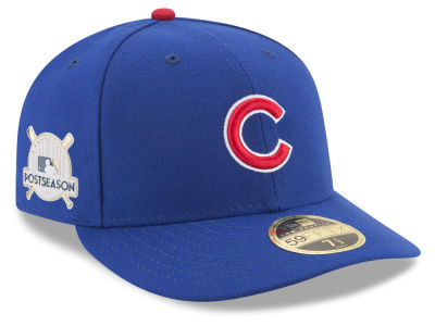 Chicago Cubs New Era 2017 MLB Post Season Low Profile Patch 59Fifty Cap