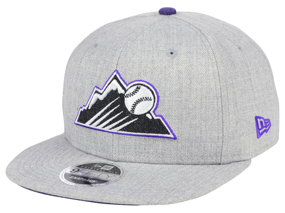 the best attitude 7059d 14074 ... italy colorado rockies new era mlb heather hype 9fifty snapback cap  lids 81728 64301