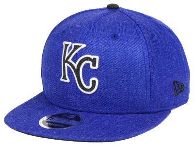 Kansas City Royals New Era MLB Heather Hype 9FIFTY Snapback Cap