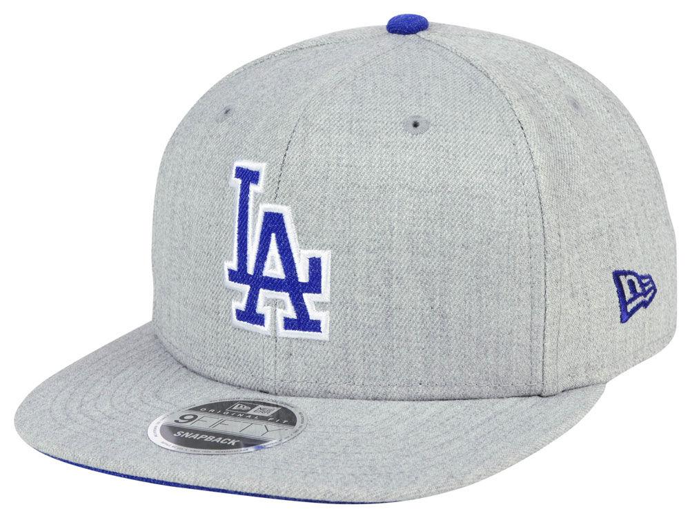 Los Angeles Dodgers New Era MLB Heather Hype 9FIFTY Snapback Cap ... 9b160916cfaa