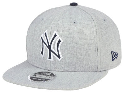 online store f7b65 853bb ... germany new york yankees new era mlb heather hype 9fifty snapback cap  a3778 6cf08