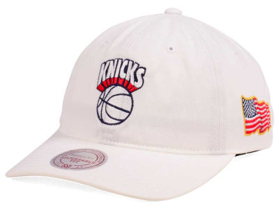 New York Knicks Mitchell & Ness NBA X Made In America Dad Hat