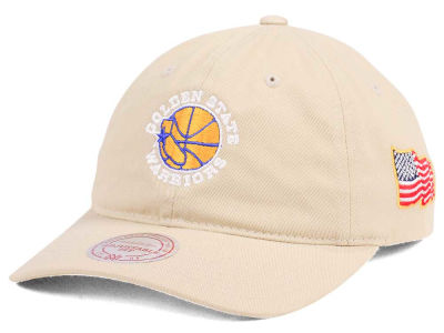 Golden State Warriors Mitchell & Ness NBA X Made In America Dad Hat