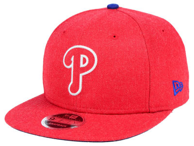 Philadelphia Phillies New Era MLB Heather Hype 9FIFTY Snapback Cap