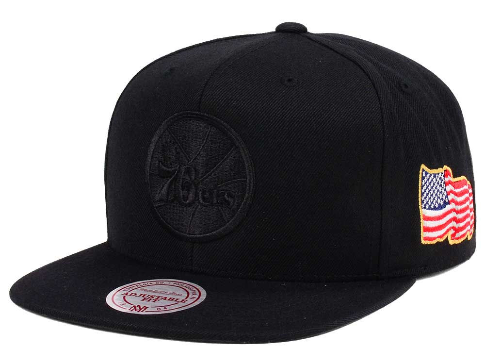 new style d286c 1ae51 ... order philadelphia 76ers mitchell ness nba x made in america snapback  cap 49d33 1854e