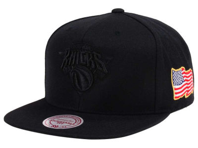 New York Knicks Mitchell & Ness NBA X Made In America Snapback Cap