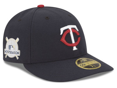 Minnesota Twins New Era 2017 MLB Post Season Low Profile Patch 59Fifty Cap