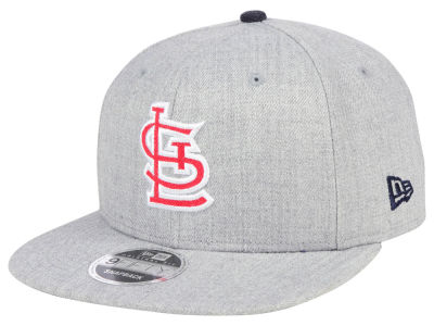 St. Louis Cardinals New Era MLB Heather Hype 9FIFTY Snapback Cap