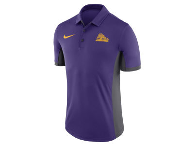 LSU Tigers Nike NCAA Men's Vault Logo Evergreen Polo