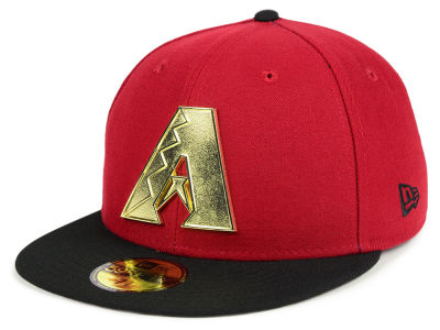 Arizona Diamondbacks New Era MLB Golden Finish 59FIFTY Cap