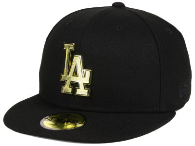 Los Angeles Dodgers New Era MLB Golden Finish 59FIFTY Cap