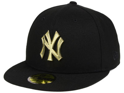 New York Yankees New Era MLB Golden Finish 59FIFTY Cap