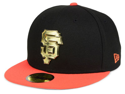 San Francisco Giants New Era MLB Golden Finish 59FIFTY Cap