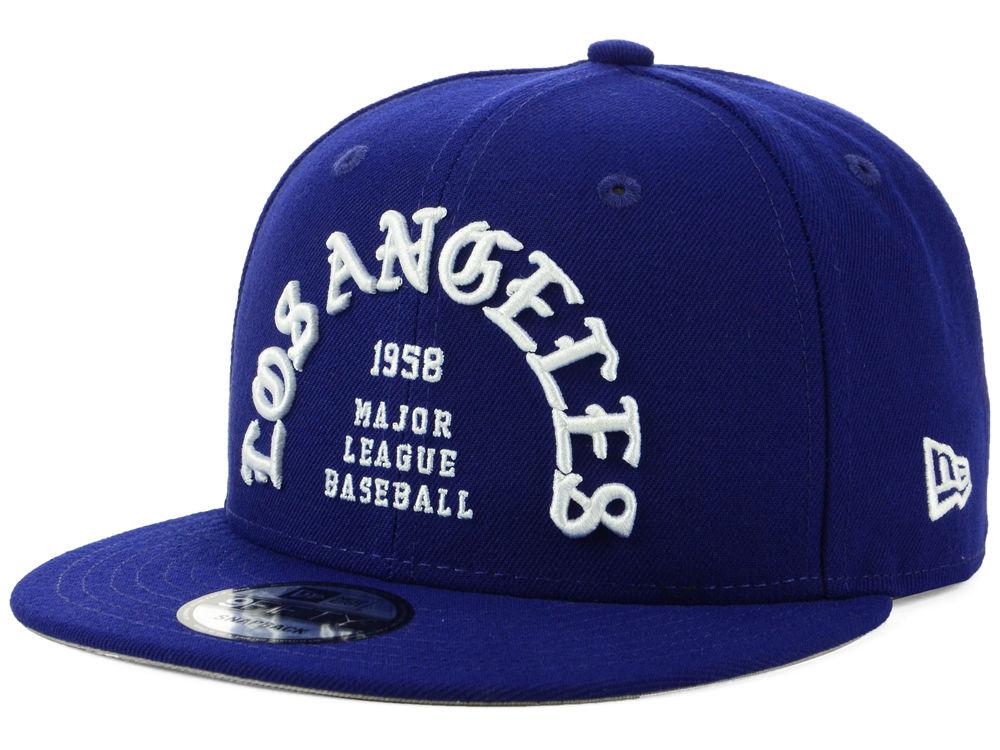 Los Angeles Dodgers New Era MLB Team Deluxe 9FIFTY Snapback Cap ... 120350ad5947