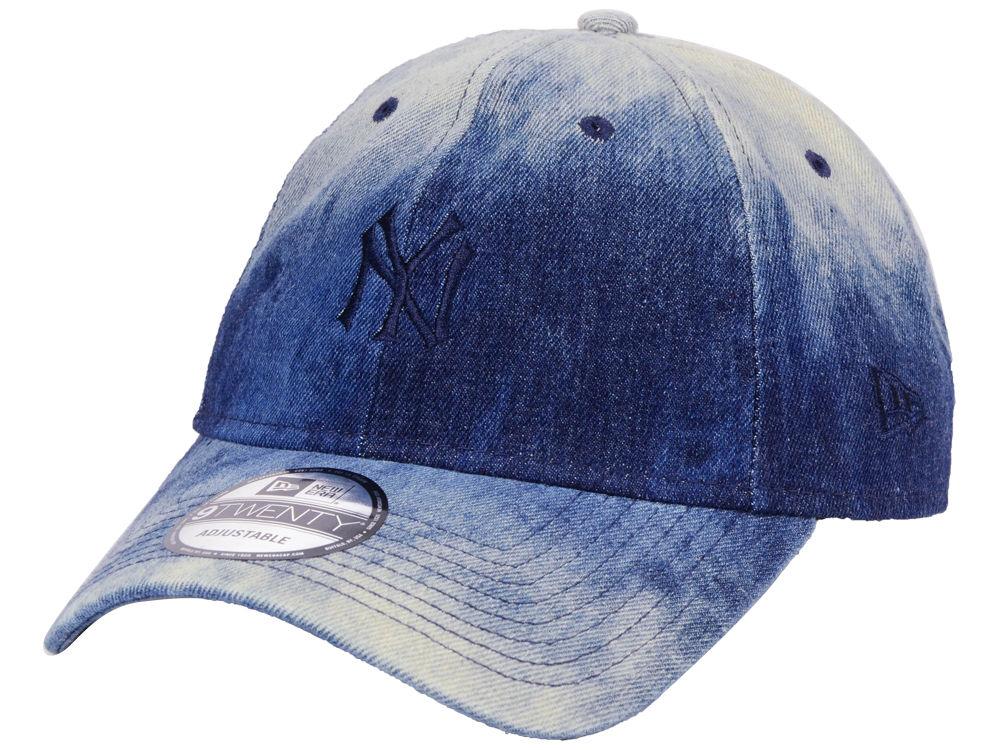 a582eee8 Shoptagr | New York Yankees New Era Mlb Washedout 9 Twenty Cap by Lids