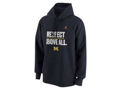 Michigan Wolverines Nike NCAA Men's Re2pect Above All Hoodie