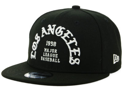 Los Angeles Dodgers New Era MLB Team Deluxe 9FIFTY Snapback Cap