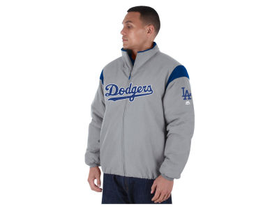 Los Angeles Dodgers Majestic MLB Men's On-Field Thermal Jacket