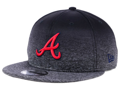 Atlanta Braves New Era MLB Shadow Fade 9FIFTY Snapback Cap