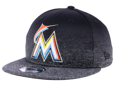 Miami Marlins New Era MLB Shadow Fade 9FIFTY Snapback Cap