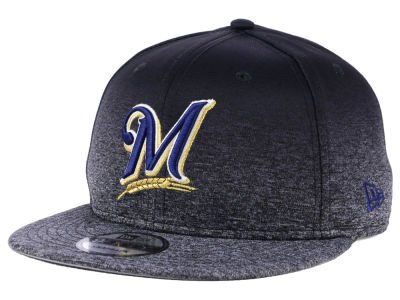 Milwaukee Brewers New Era MLB Shadow Fade 9FIFTY Snapback Cap