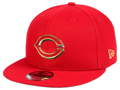 Cincinnati Reds New Era MLB Metal Framed 9FIFTY Snapback Cap
