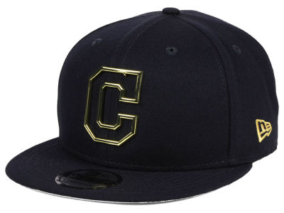 Cleveland Indians New Era MLB Metal Framed 9FIFTY Snapback Cap