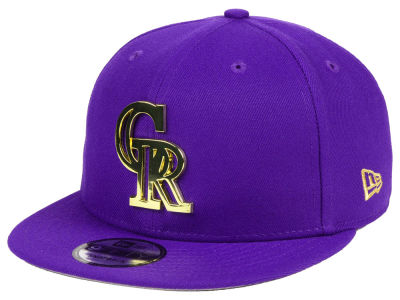 Colorado Rockies New Era MLB Metal Framed 9FIFTY Snapback Cap