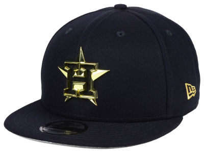 Houston Astros New Era MLB Metal Framed 9FIFTY Snapback Cap