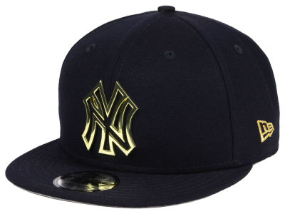 New York Yankees New Era MLB Metal Framed 9FIFTY Snapback Cap