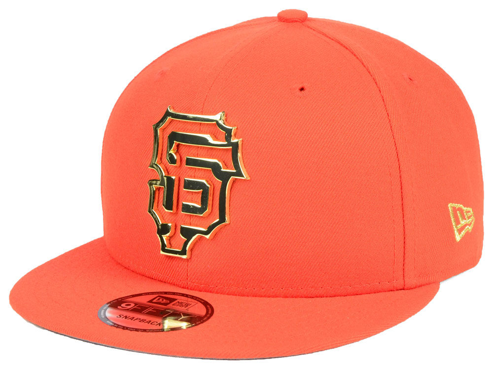 ab78fe157fb San Francisco Giants New Era MLB Metal Framed 9FIFTY Snapback Cap ...