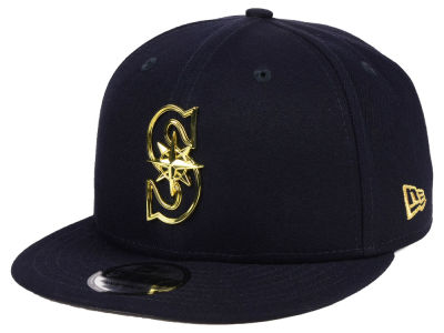 Seattle Mariners New Era MLB Metal Framed 9FIFTY Snapback Cap