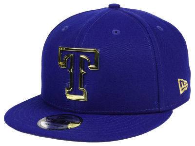Texas Rangers New Era MLB Metal Framed 9FIFTY Snapback Cap