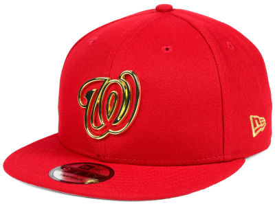 Washington Nationals New Era MLB Metal Framed 9FIFTY Snapback Cap